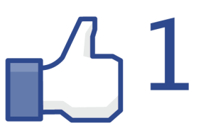 Facebook Like Icon - Thumbs Up, Number 1
