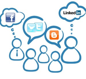 Social Media Policy Thought Clouds