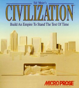 Original Civilization video game box