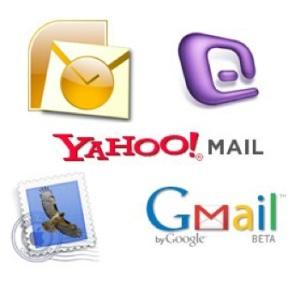 E-mail Domain Logos