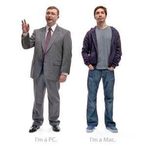 I'm a Mac, I'm a PC