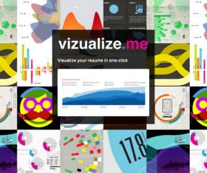 Vizualize.me, LinkedIn Profile, Visual Resume, Personal Infographic