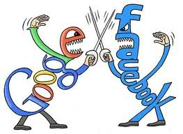 Facebook vs. Google, Sword Fighting Social Media Sites