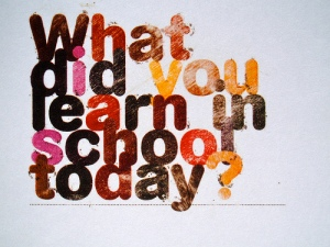 What did you learn in school today - credit to The Polon Team