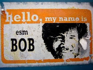 Hello my name is Bob happy trees