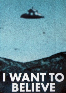 I Want to Believe, Fox Mulder's poster in his office in X-Files