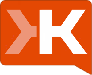 Klout logo, Klout, the measure of social media influence