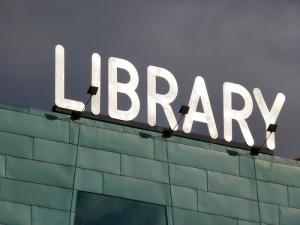 Library by ellen forsyth