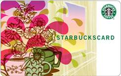 Starbucks Card - Pretty