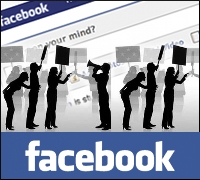 Facebook Picketing