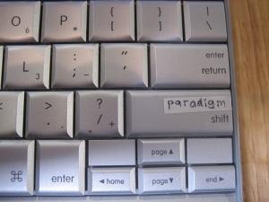 paradigm shift keyboard