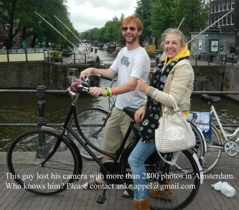 Amsterdam Lost Camera Social Media