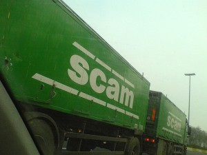 Scam Truck by jepoirrier