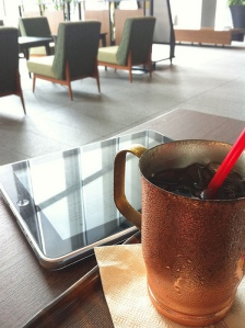 ipad and drink by zeromk
